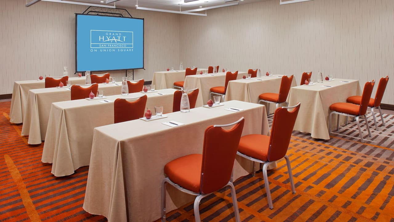 Grand Hyatt San Francisco Classroom Meeting Room