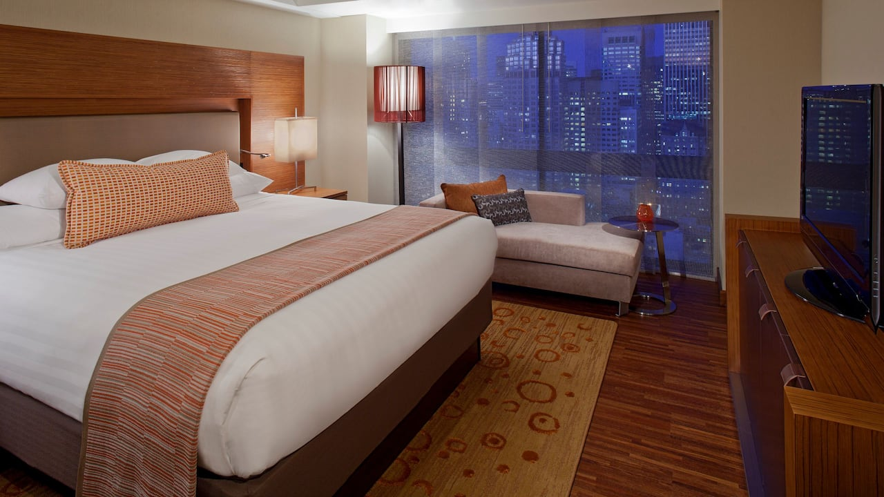 Grand Hyatt King Bed