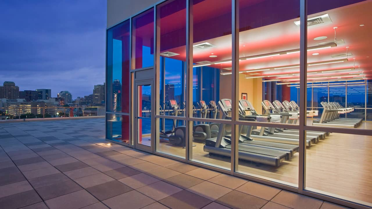 Fitness Center Grand Hyatt San Antonio