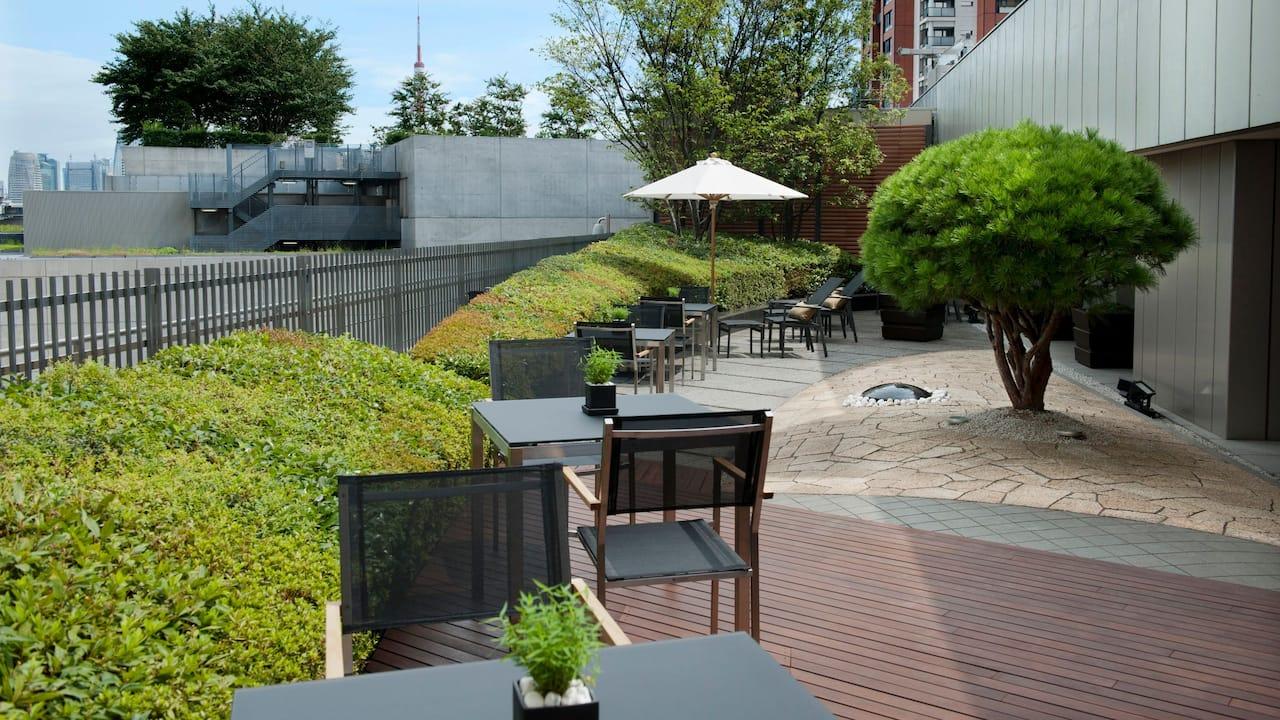 Grand Hyatt Tokyo Grand Club Lounge Terrace グランド ハイアット 東京 グランド クラブ ラウンジ テラス