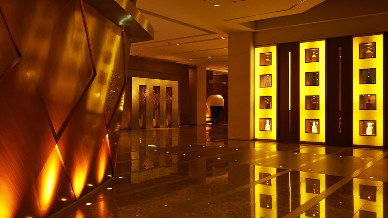 Grand Hyatt Tokyo Lobby グランド ハイアット 東京 ロビーエリア