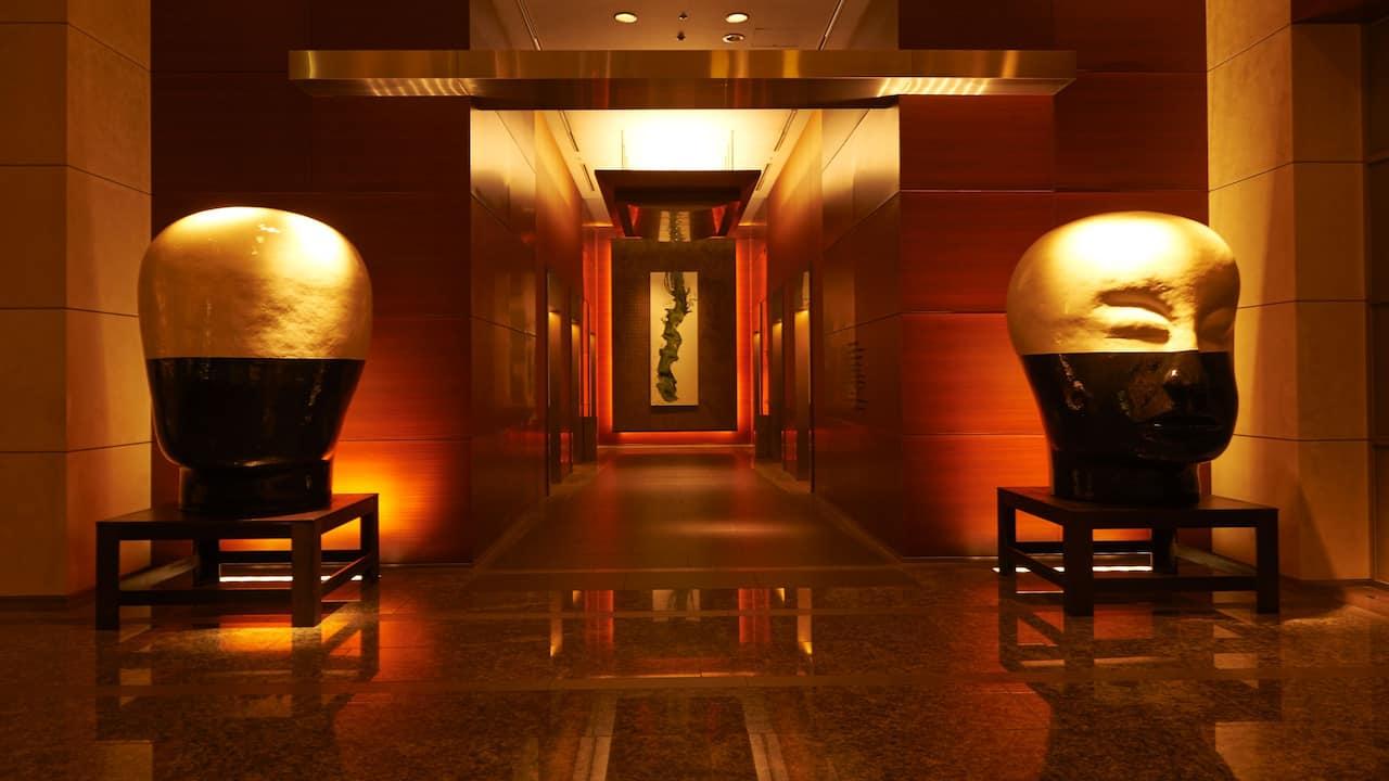Grand Hyatt Tokyo Hotel Lobby グランド ハイアット 東京 ホテルロビー