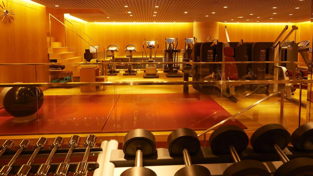 Grand Hyatt Tokyo Fitness Center グランド ハイアット 東京 フィットネスセンター