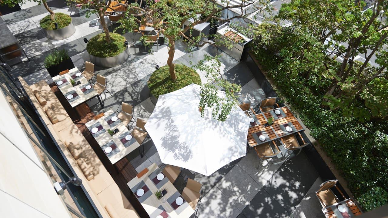 Grand Hyatt Tokyo The French Kitchen Terrace グランド ハイアット 東京 フレンチ キッチン テラス