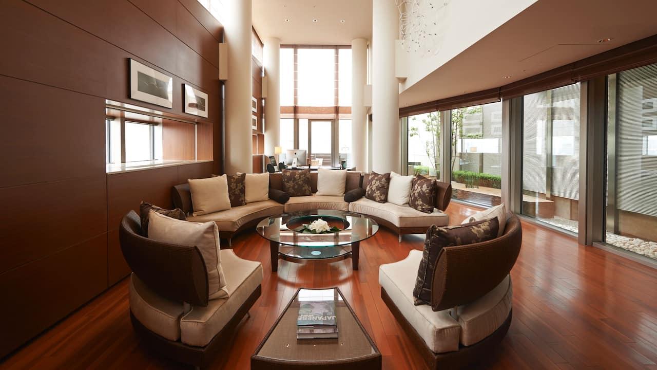 Grand Hyatt Tokyo Presidential Suite Living Room グランド ハイアット 東京 プレジデンシャルスイート リビングルーム