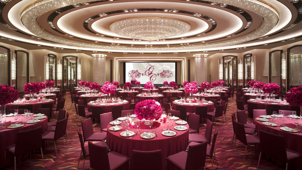 Grand Ballroom Chinese Wedding