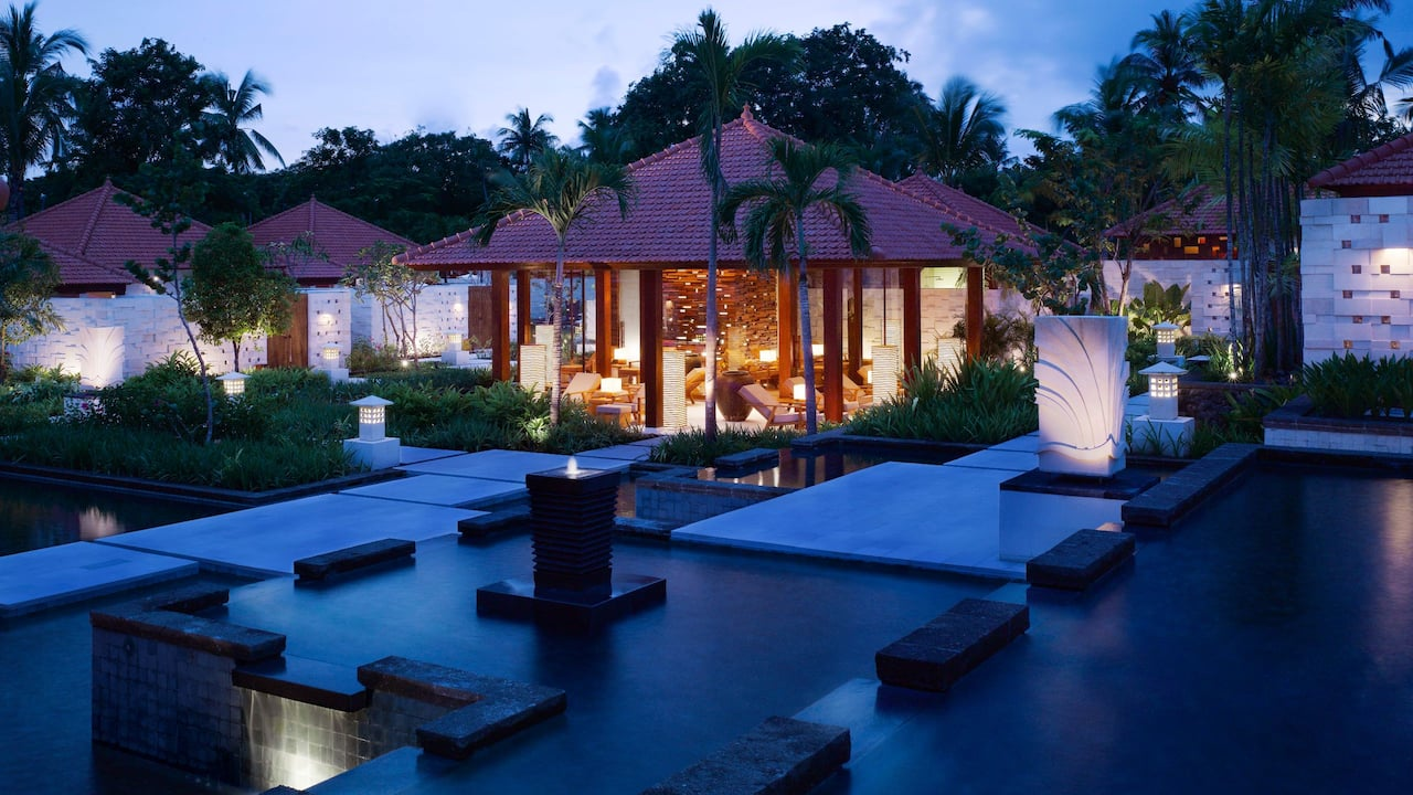 Luxurious Spa Villas at Kriya Spa, Grand Hyatt Bali