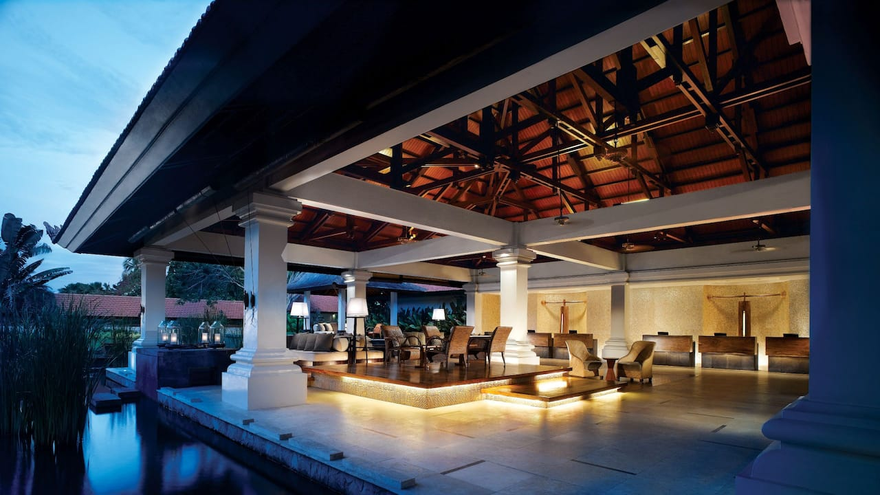 Grand Hyatt Bali Hotel Reception Area