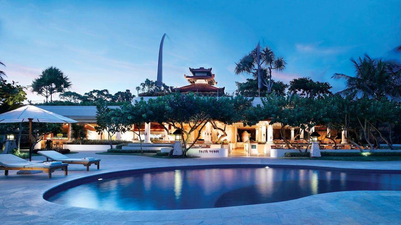 Salsa Verde Beachfront Italian Restaurant Nusa Dua Bali