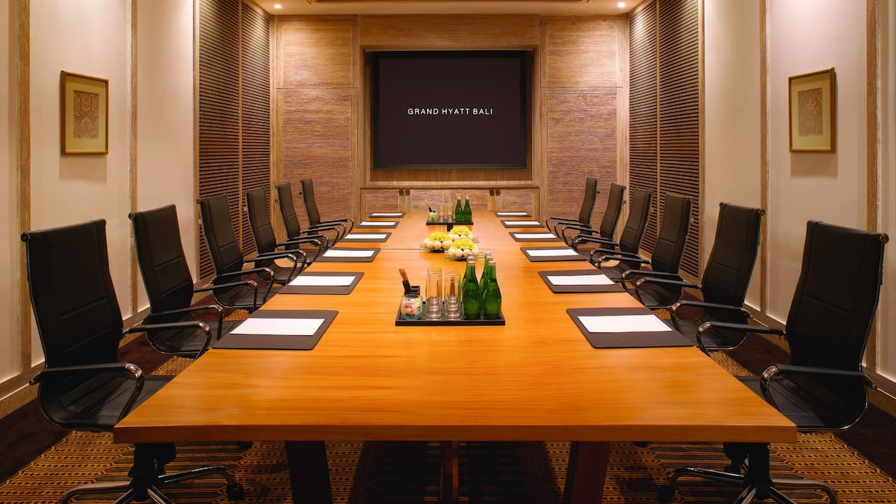 Jepun Board Room at Grand Hyatt Bali