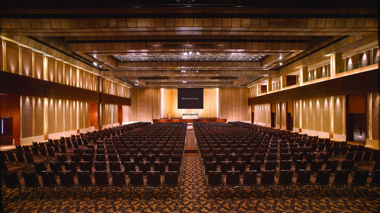 Event Space, Grand Ballroom, Grand Hyatt Bali Nusa Dua