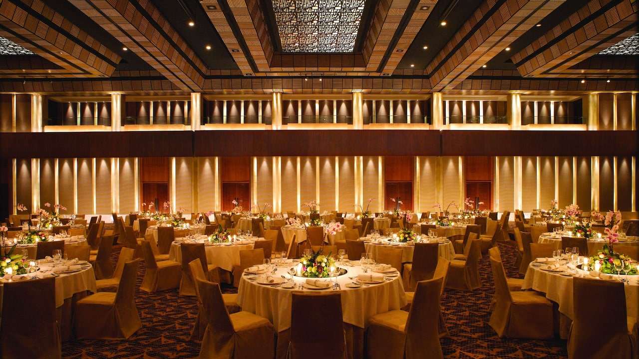 Grand Ballroom Wedding Venues, Grand Hyatt Bali