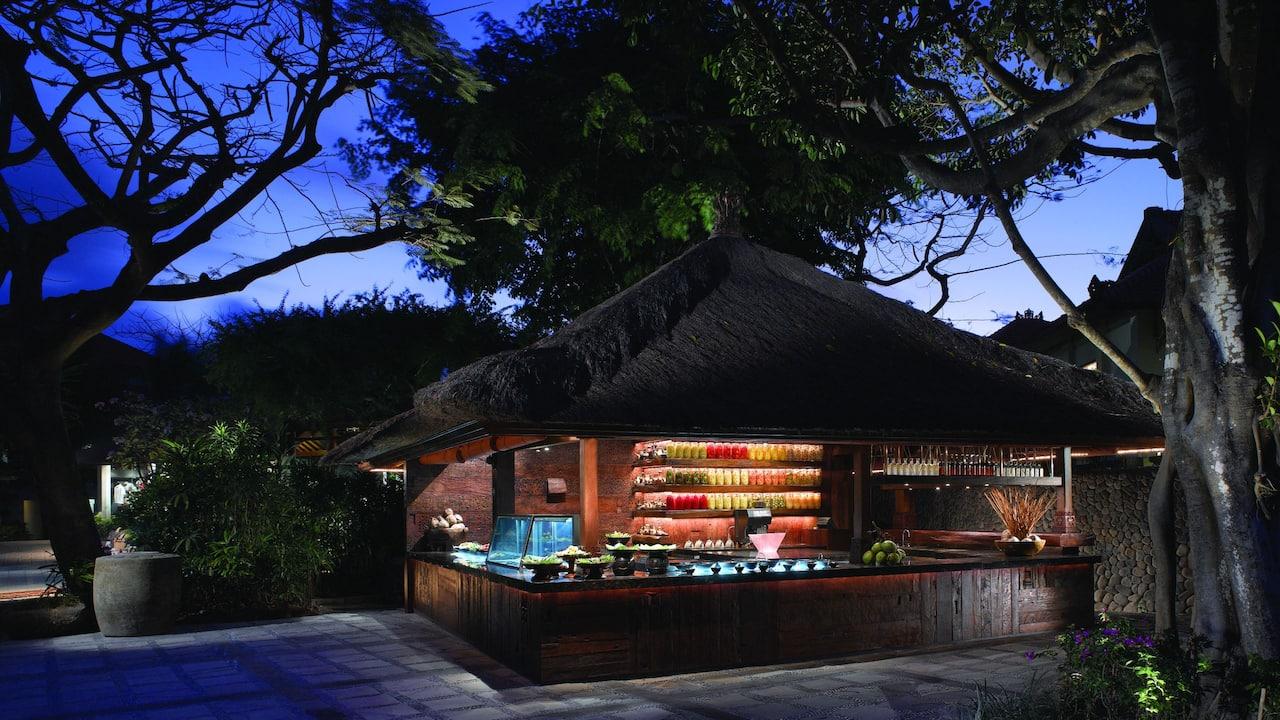 Indonesian and Balinese Food at Pasar Senggol Restaurant Nusa Dua Bali