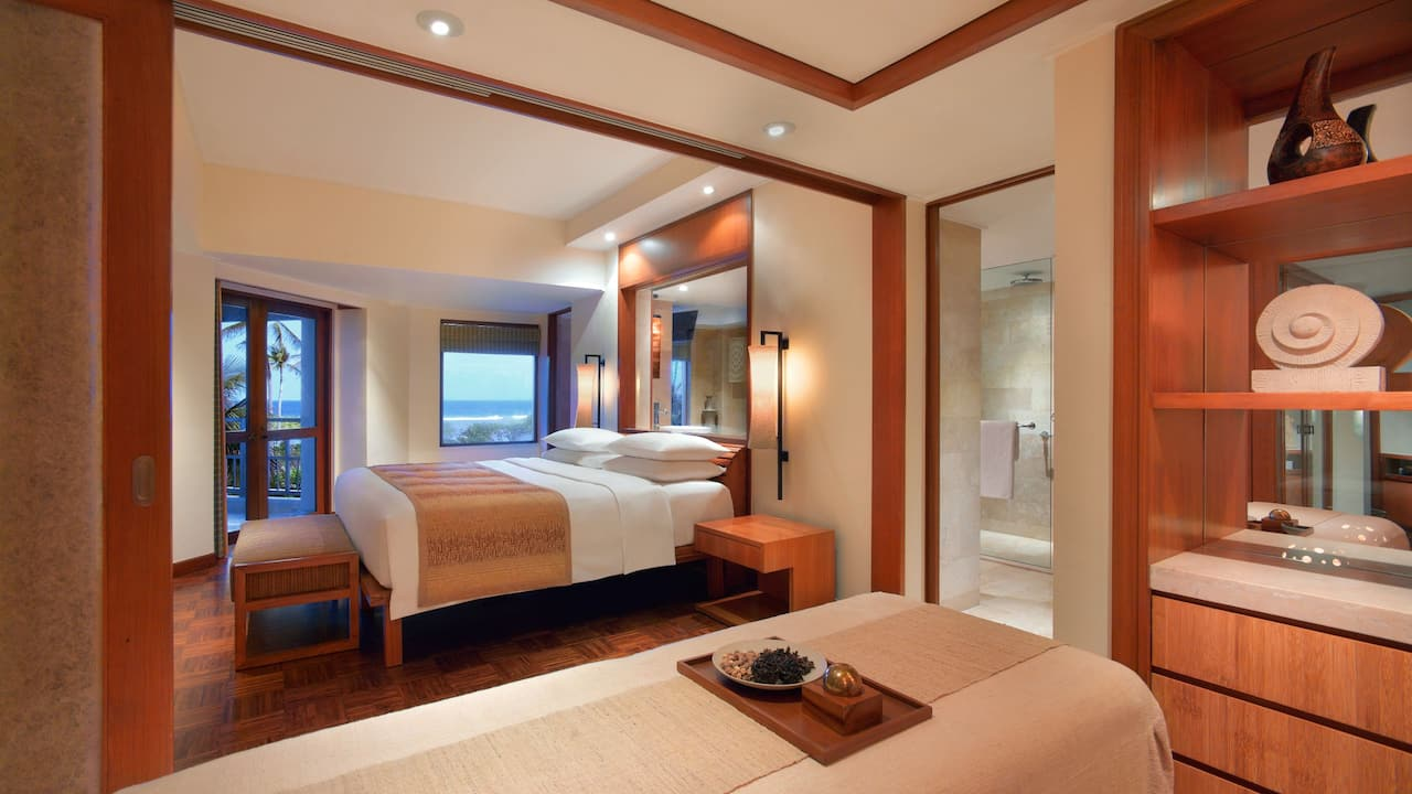 Bedroom Ambassador Suite Grand Hyatt Bali, Nusa Dua