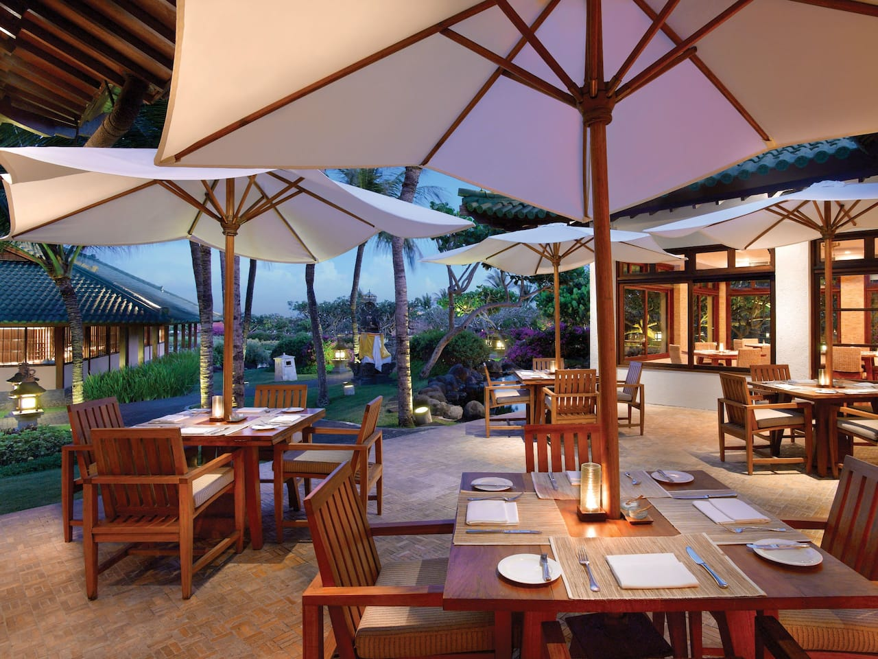 Garden Cafe Restaurant Bali, Grand Hyatt