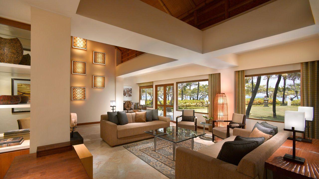 Villa Belibis living room