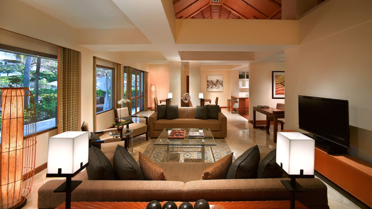 Villa Belibis Grand Hyatt Bali (Living Room)
