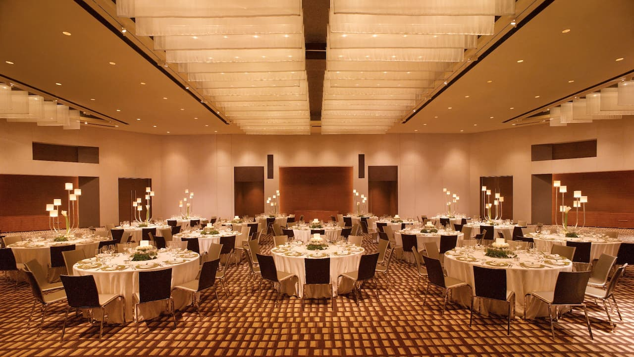 Grand Hyatt Guangzhou, meetings and events