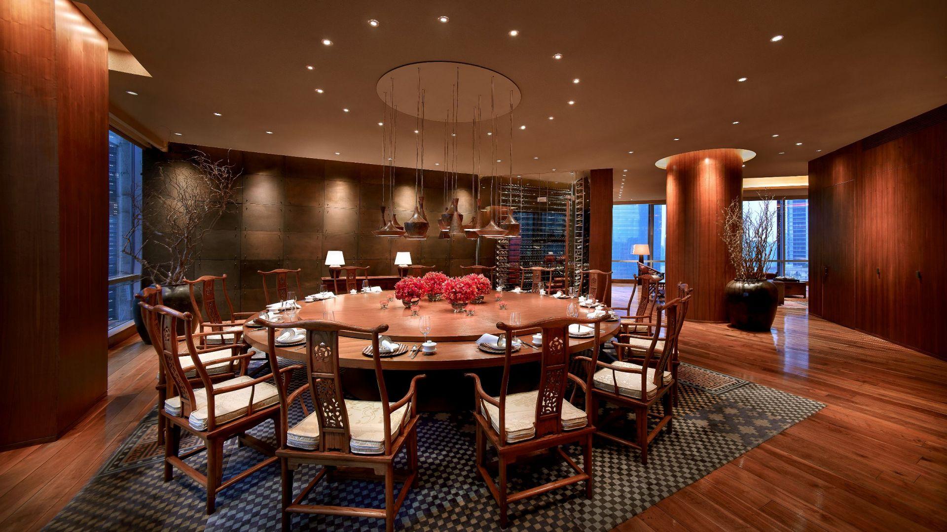 Penthouse Dining area