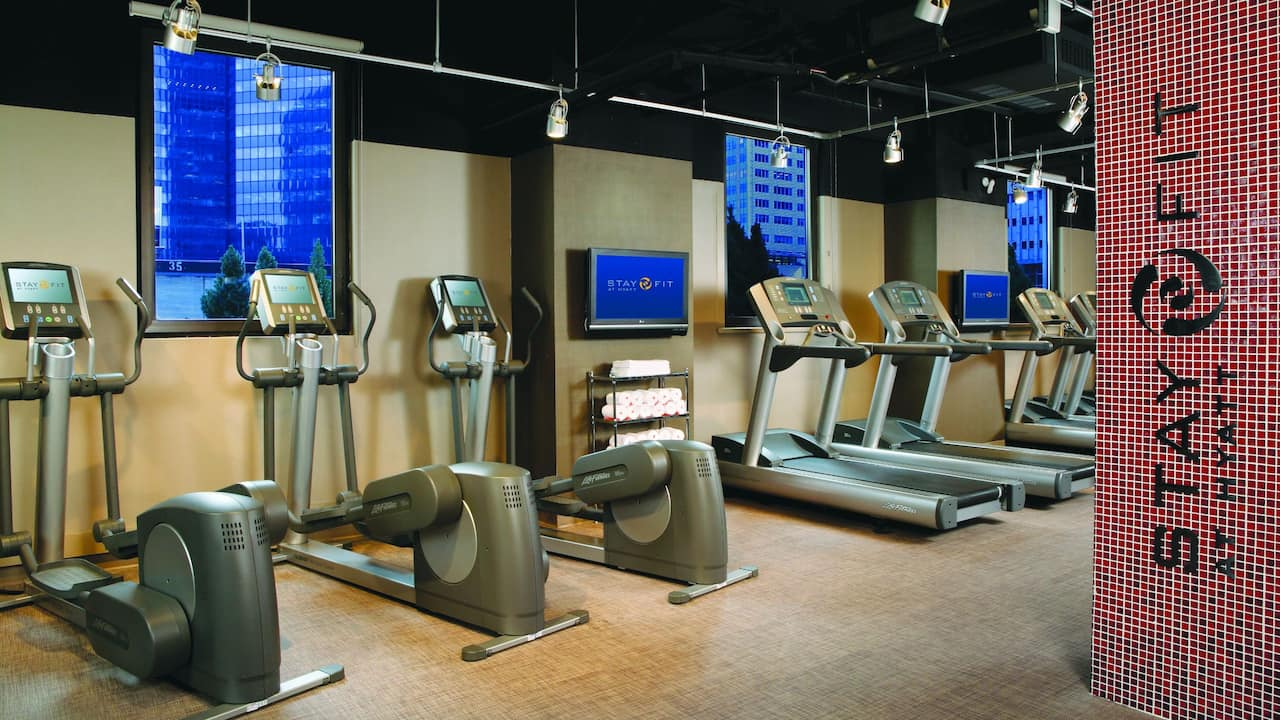 Grand Hyatt New York StayFit Fitness Center