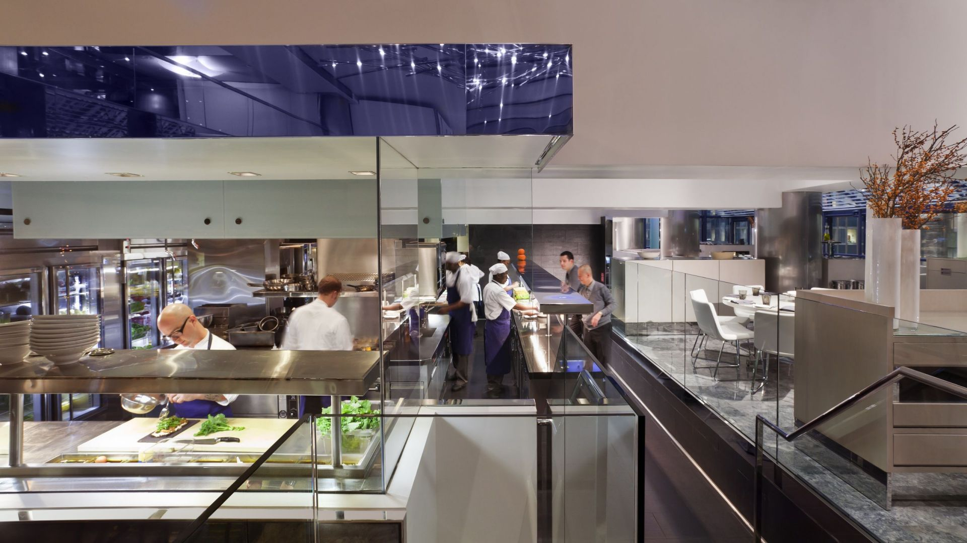 Grand Hyatt New York Open Kitchen