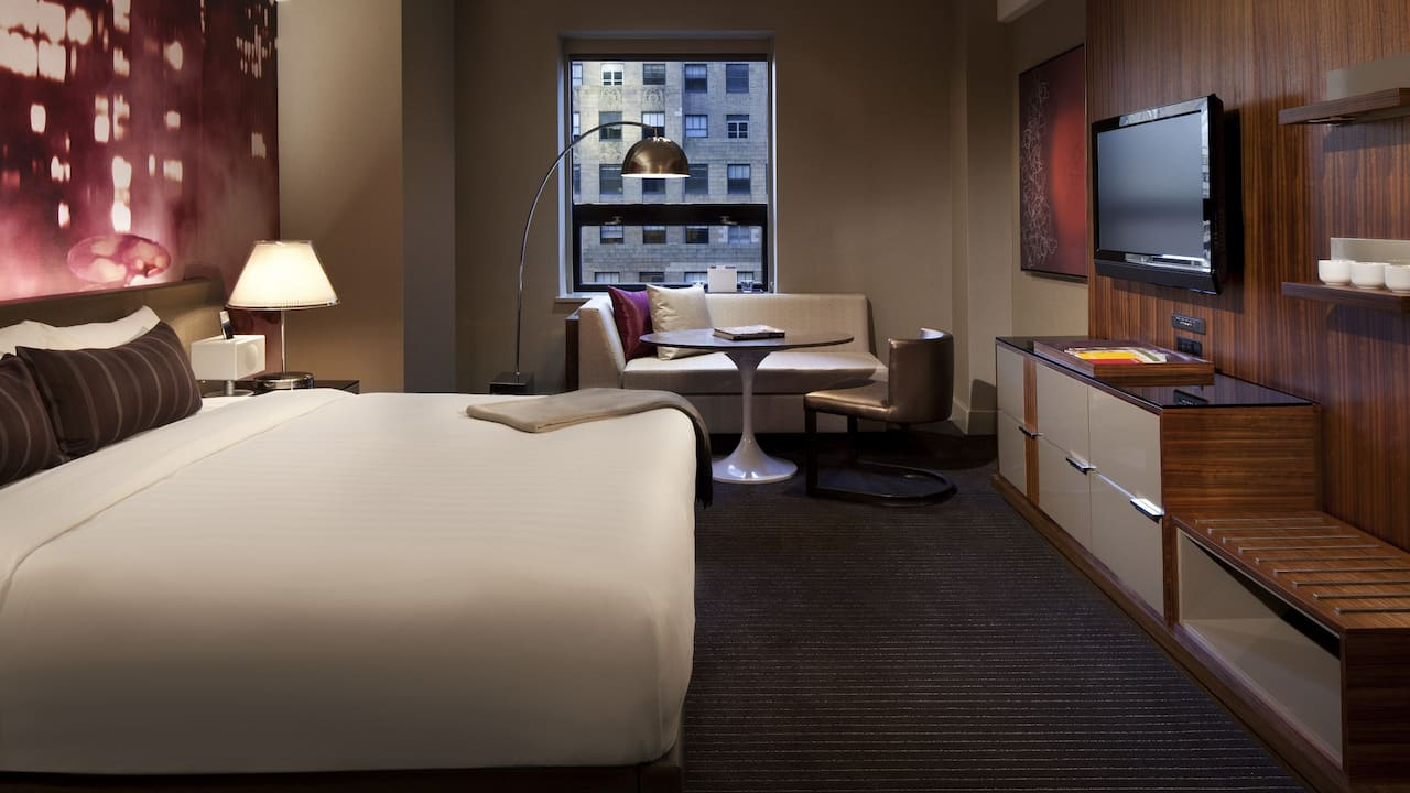 Grand Hyatt New York King Guestroom