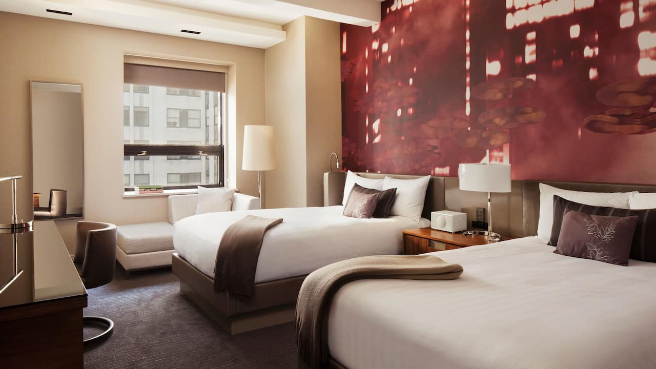 Grand Hyatt New York Two Double Beds