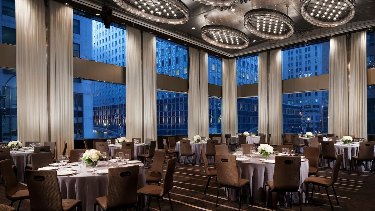 Grand Hyatt New York Manhattan Ballroom Dinner
