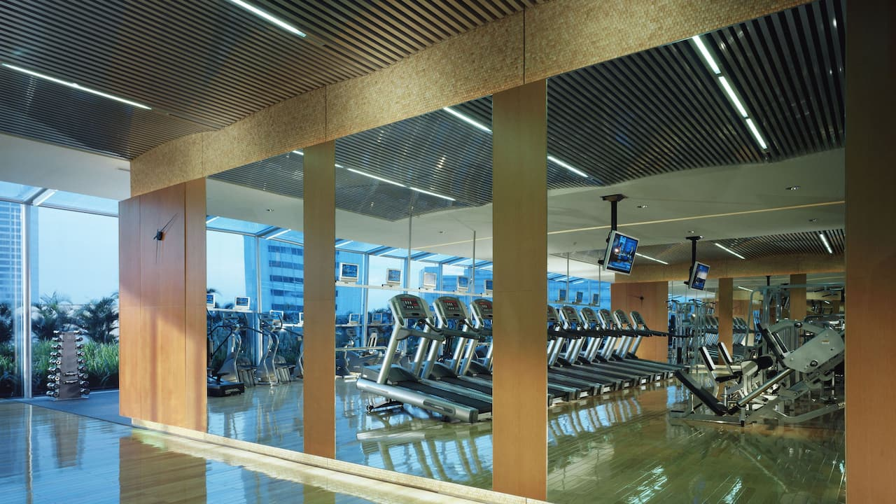 24/7 Gym Club Olympus The Grand Hyatt Hotel, Jakarta