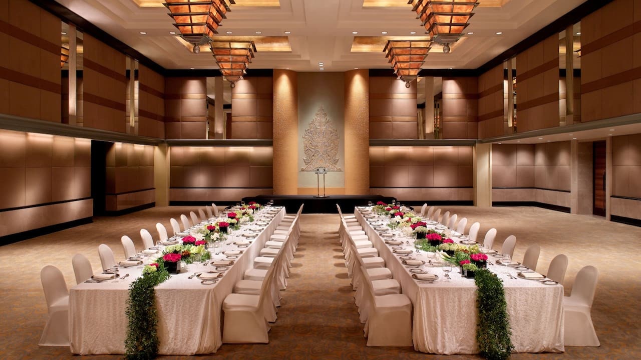 Ballroom Hotel Jakarta, Meeting Space & Corporate Events The Grand Hyatt Hotel, Jakarta