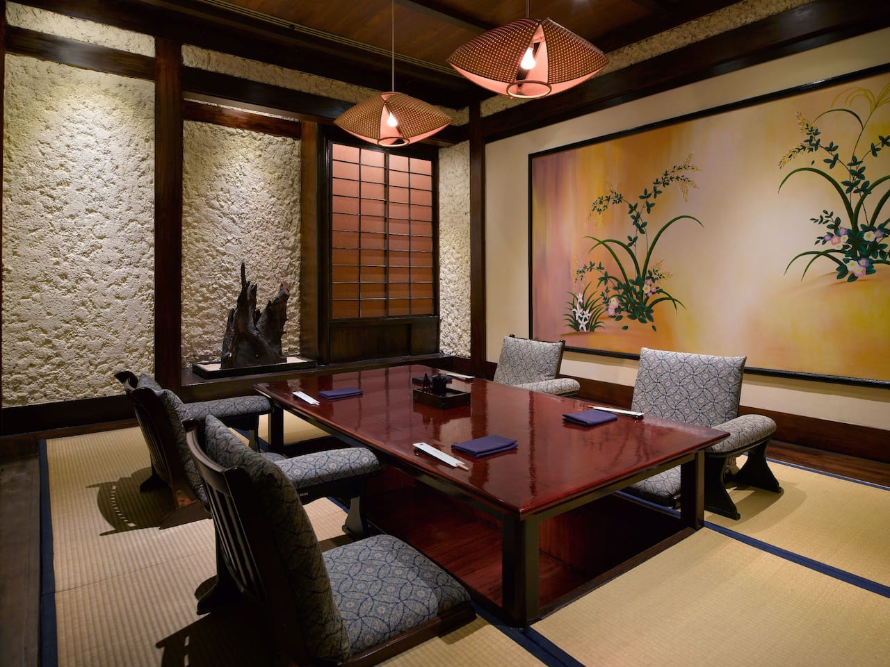 Tatami Room Sumire Japanese Restaurant The Grand Hyatt, Jakarta