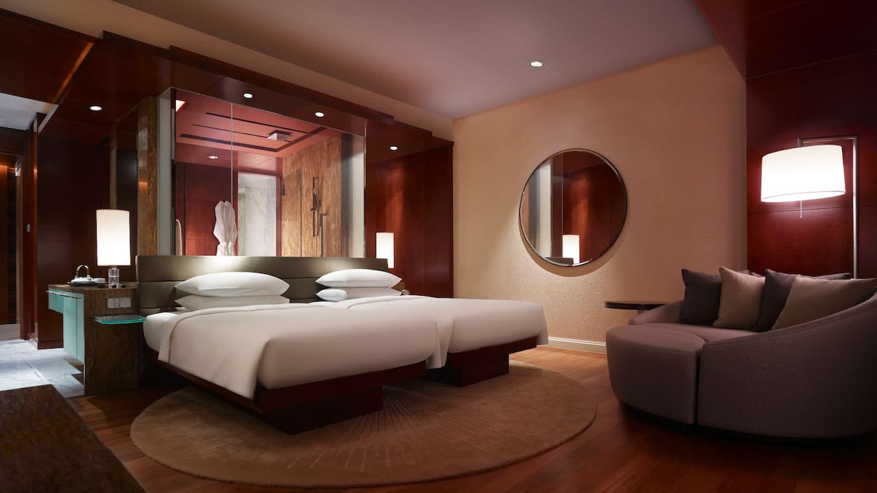 Grand Hyatt Kuala Lumpur - Grand Room with 2 Twin Beds (Bedroom)