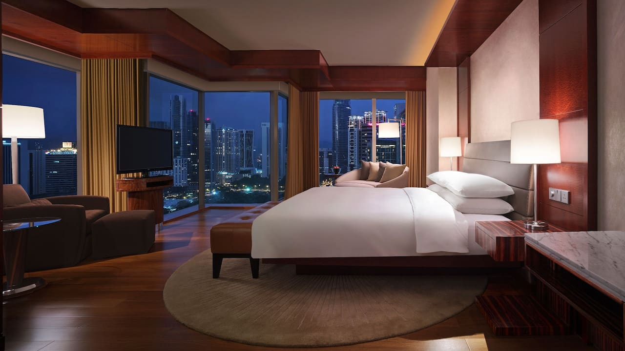 Grand Deluxe King, Luxury Hotel Rooms and Suites Grand Hyatt Kuala Lumpur, Malaysia
