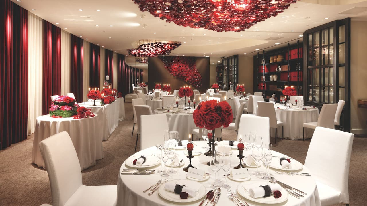 The Red Rose Banquet Grand Hyatt Fukuoka