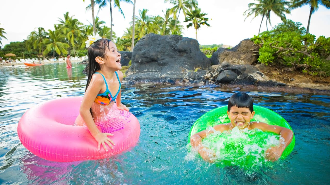 Grand Hyatt Kauai Beachfront Resort Kid Friendly Pool
