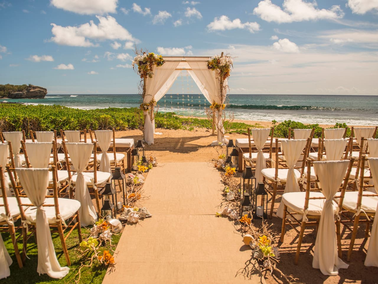Grand Hyatt Kauai Beach Wedding
