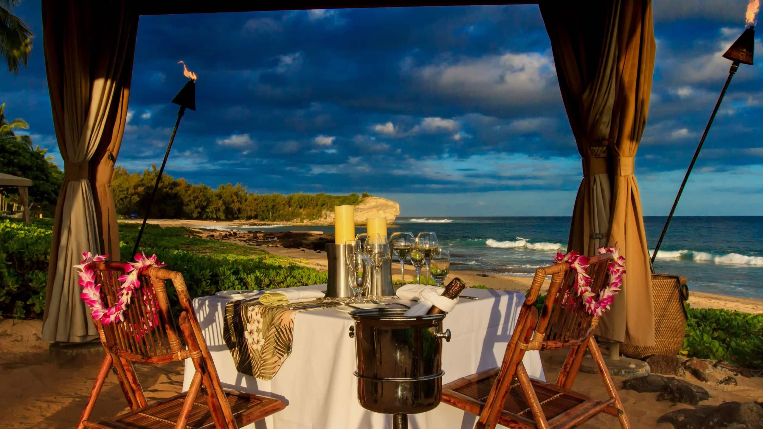 Oceanfront Restaurants And Kauai Restaurants Grand Hyatt