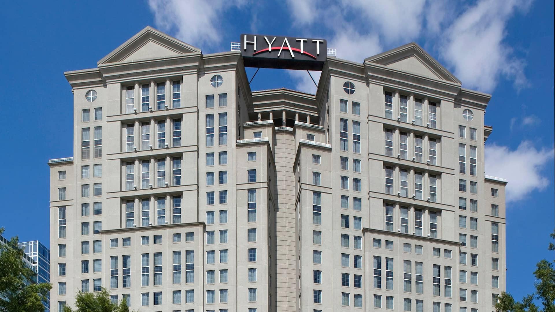 Exterior Grand Hyatt Atlanta