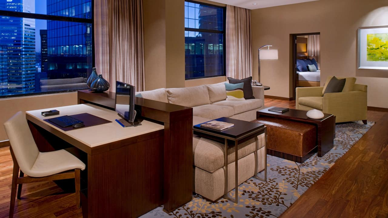 Presidential suite at Grand Hyatt Denver