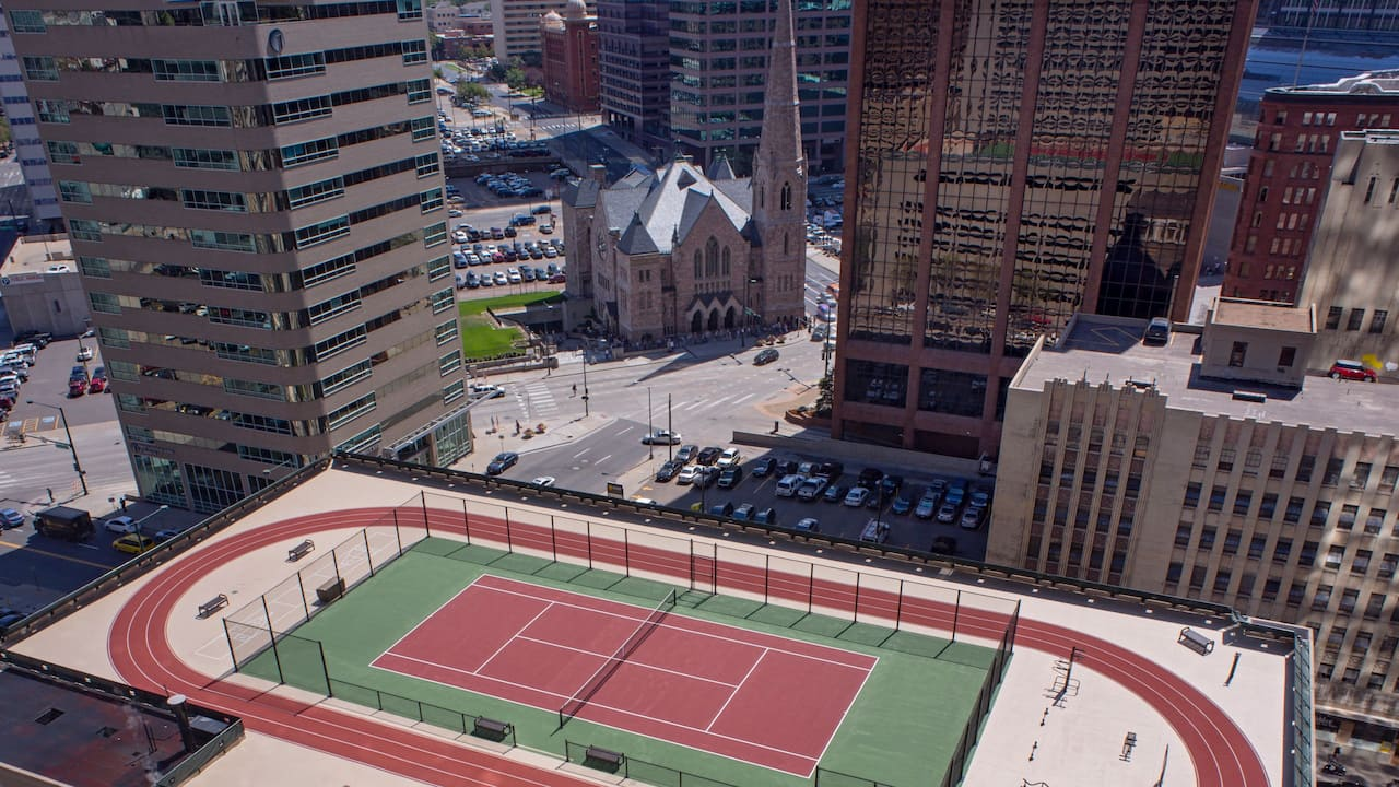 Rooftop Track Tennis Courts