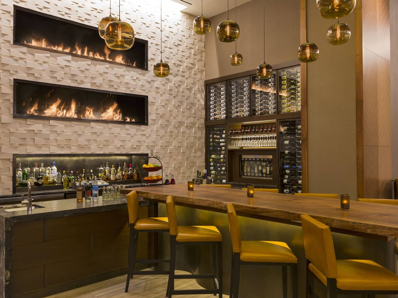 Grand Hyatt Denver bar in downtown Denver