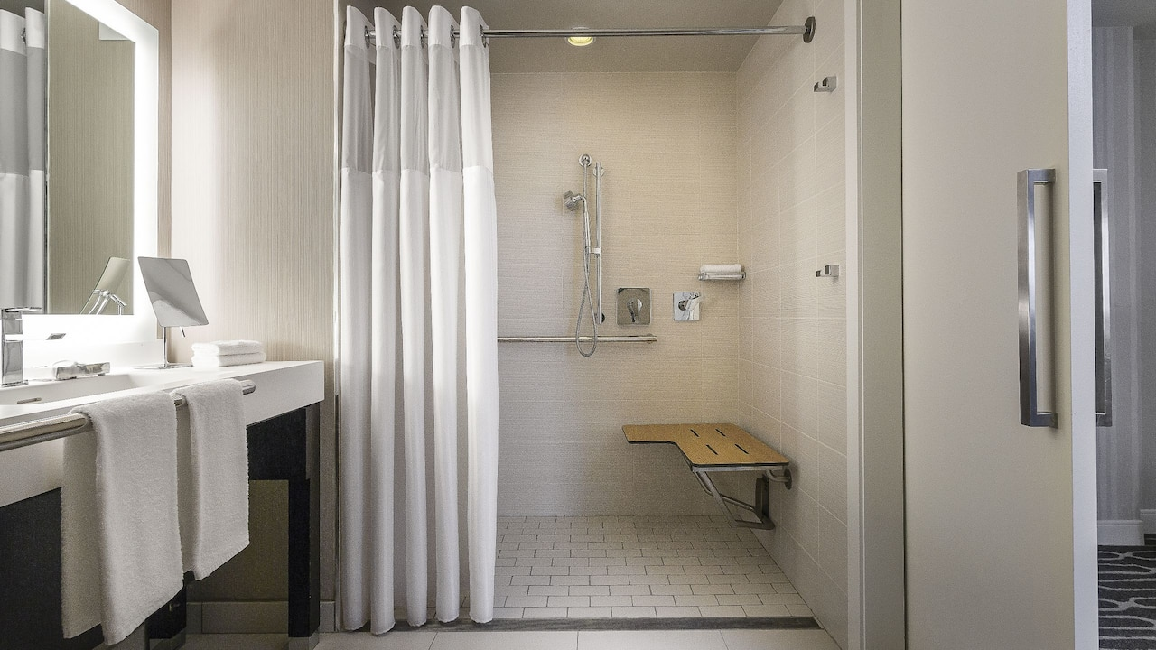 Manchester Grand Hyatt San Diego Accessible Shower