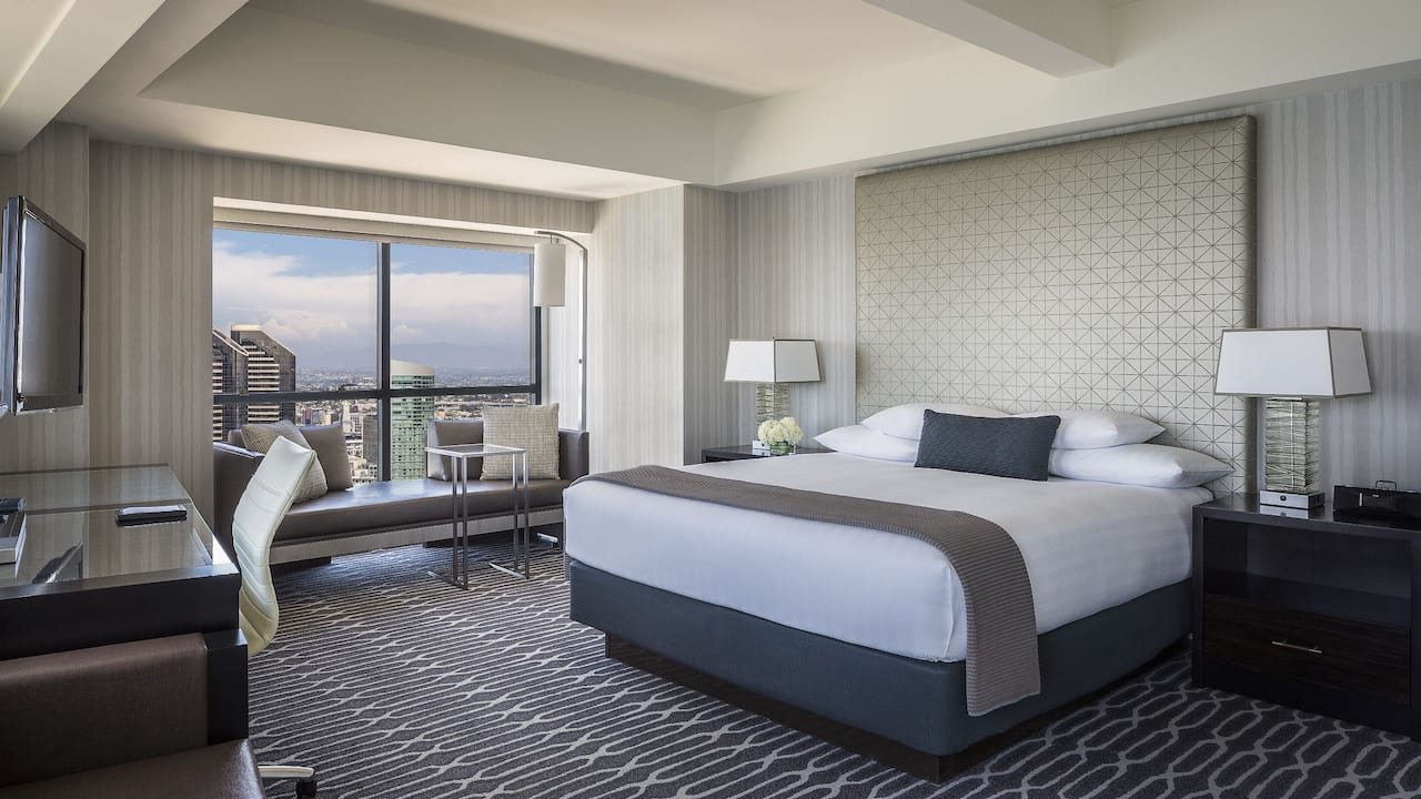 Manchester Grand Hyatt San Diego King Bed City View