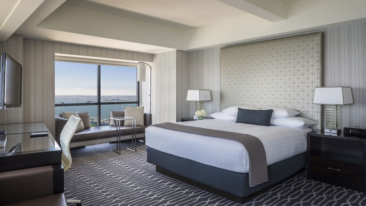 Manchester Grand Hyatt San Diego King Bed Bay View