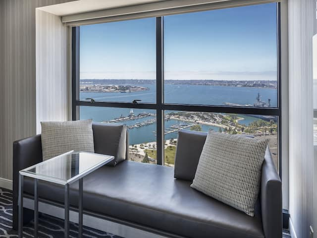 King Room Corner View at Manchester Grand Hyatt San Diego