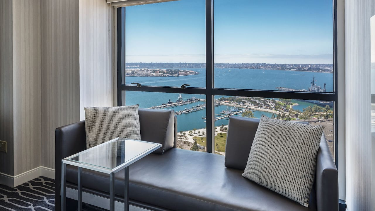 King Seating Premium Bay View at Manchester Grand Hyatt San Diego