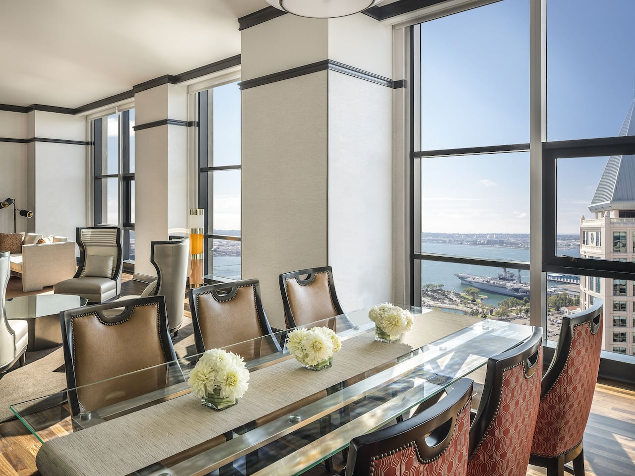 Presidential Suite Dining Room at Manchester Grand Hyatt San Diego