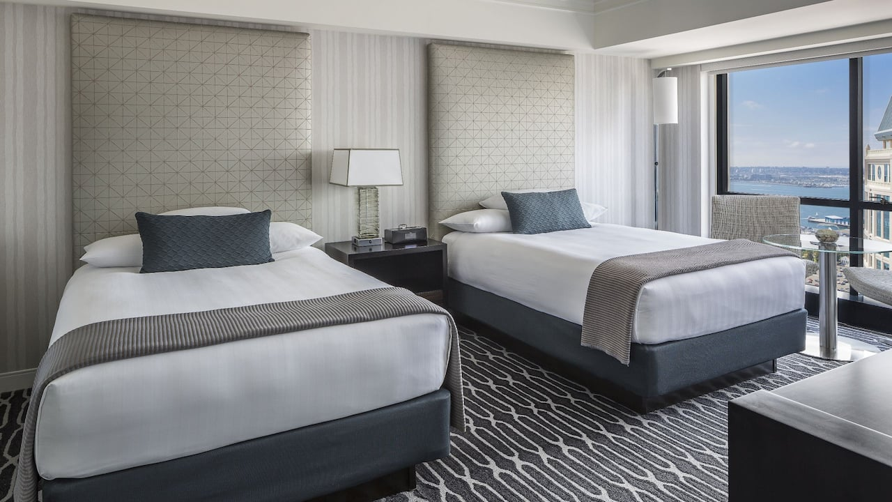 Manchester Grand Hyatt San Diego Double Bed
