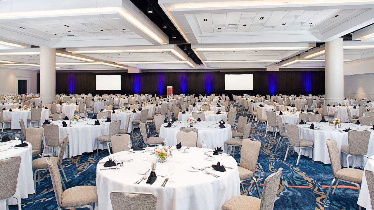 Grand Hall rounds setup