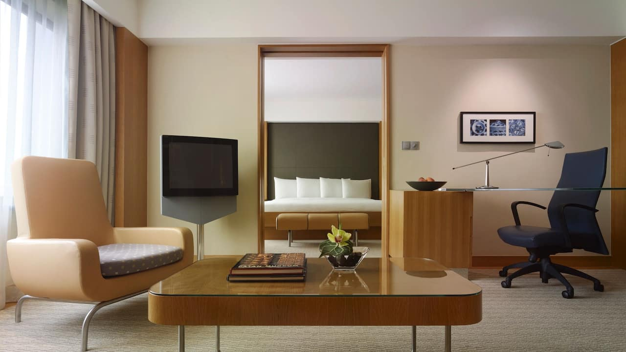 1 King Bed Deluxe at Grand Hyatt Singapore